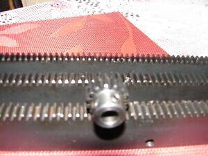 "CNC Plasma taable  Mech Rack & Gear 72""  Rack (3x24""pcs) 3/8"" 20T Pinion Gear"