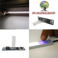 Interruttore DIMMER TOUCH con MEMORIA per profili alluminio strisce led 12/24V