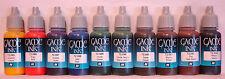 Vallejo Gioco Colore Ink-Serie completa di 10 x Vallejo Inchiostro - 10 x 17ml colori acrilici