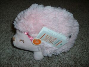 """Carter's Just One You Plush Hedgehog Musical Wind-Up Toy Baby Girl Pink 9"""" NWT"""