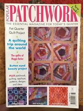 Craft magazine.Patchwork.June 2002.Quilts.Applique.Patterns.Designs and ideas