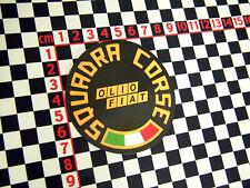 Squadra Corsa Pegatina-Fiat 650 850 800 600 126P 131 132 128 127 X1-9