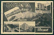 Bari Barletta Saluti a Grande Velocità Treno cartolina QQ4617