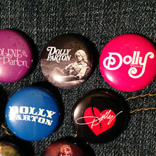 "10 DOLLY PARTON 1"" buttons FREE SHIPPING! - Country Western Bluegrass Gospel"