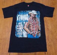 #2164-8 Jason Aldean with Luke Bryan My Kinda Party Tour 2012 Graphic T-Shirt S