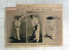 1902 Heroes Of The First Test Match Australians All Out For 36