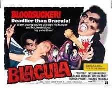 Blacula Poster 02 Metal Sign A4 12x8 Aluminium