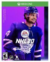 NHL 20: Xbox One [Brand New Factory Sealed] XB1 Hockey Video Game Sports