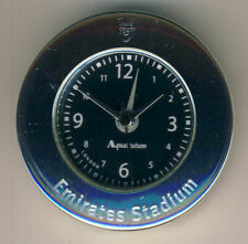 Arsenal Emirates Stadium Clock made by Aquascutum in pouch and in box