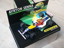 Minichamps Senna Collection #27 Williams FW14 1991 Mansell Taxi Senna 1/43