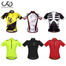 Men Cycling Jersey Short Sleeve Mountain Bike Clothes Cycle Shirt Tops Quick Dry
