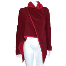 LULULEMON Presence of Mind Jacket Cranberry Fleece Women's size 4 - INV 5631