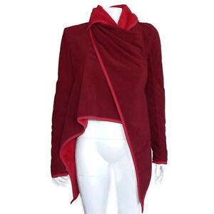 LULULEMON Presence of Mind Jacket Deep Cranberry Womens size 4 - INV 5631