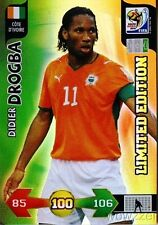 10 Panini Adrenalyn XL FIFA WorldCup Didier Drogba Limited Edition Côte d'Ivoire