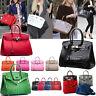 Women Must Have Top Handle Handbag Genuine Real Leather Togo Designer Bag Tote