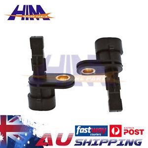 2 PCS Rear ABS Wheel Speed Sensor For Holden Commodore VE 06-13 V6 V8 SS SV6 SSV