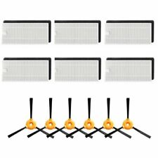 18pcs Filters Side Brush kit For Ecovacs DEEBOT N79 N79S Robotic Vacuum Cleaner