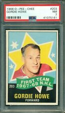 Gordie Howe 1968 O-Pee-Chee (OPC) #203 ** PSA 7 ** NHL Legend - Well Centered