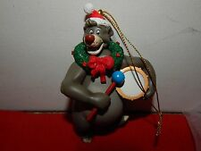 Disney ~ Grolier ~ Baloo ~ Jungle Book  ~  Christmas Ornament ~ EUC
