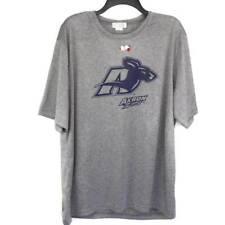 Akron Zips NCAA SDI Mens Womens Graphic T Shirt Gray Heathered Crew Neck XL New