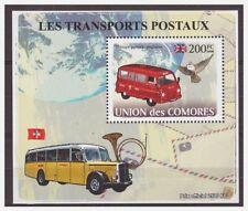 0044 Comores 2009 Motor-bus postal transport S/S Mnh