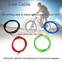 2M Bicycle Brake Shift Cable Housing Cable Hose Kit for Shimano Sram Road New