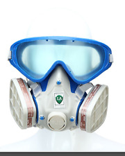 Spray Painting Mask Gas Goggles Dust Respirator for Paint Air Sprayer Compressor