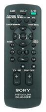 * Nuovo * Originale Sony Telecomando per hcdmx550i HCD-MX550I