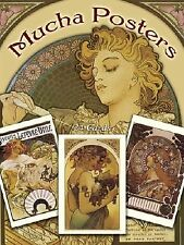 Mucha Posters Postcards: 24 Ready-To-Mail Cards by Mucha, Alphonse Maria