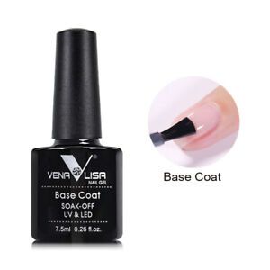 Shellack UV & LED Base Coat  Polish Gel 7,5ml Soak off UV-Nagellack Base Coat