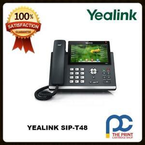 SIP-T48G YEALINK ULTRA-ELEGANT GIGABIT IP PHONE 16 SIP ACCOUNTS