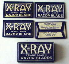 Vintage X-RAY FULL BOX Double Edge Safety Razor Blades