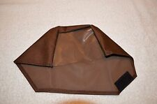 TESORO METAL DETECTORS ~ SCREEN CONTROL PROTECTIVE COVER ~ LARGE SIZE ~ BROWN