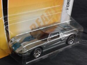 2008 Matchbox Sports Cars #18 Ford GT, Metallic Silver, 4/13 MOC! F9