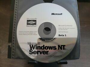 ULTRA RARE: Microsoft Windows NT 5 Server Beta 1 CD - Confidential