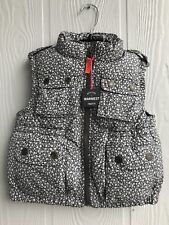 Baby Gap Girl's Warmest Puffer Vest, Floral Pavement Sz XS (4-5) Years