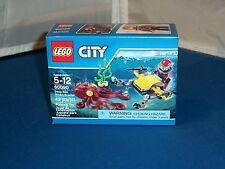 2015 Lego City Deep Sea Scuba Scooter Building Toy #60090 MISB! 42 Pcs