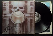 EMERSON LAKE & PALMER ELP Brain Salad Surgery SIGNED AUTOGRAPHED VINYL RECORD LP