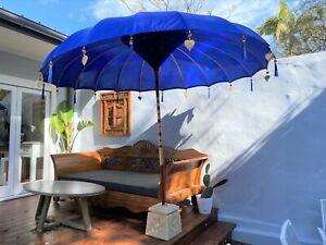 Large 3 mtr wide Bali Umbrellas  White,Red,Yellow,Pink, Black,Fuchsia,Orange Pur