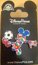 Disney Mickey Mouse Multi-Country Soccer Player Pin - New on Card- # 101175