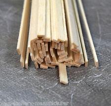 """A7 BALSA legno STRISCIA 1/16 x 3/16 - 1,5 mm x 5mm Lunghezza 12 """"Confezione da 45"""