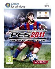 Pro Evolution Soccer PES 11 2011 Futbol de Konami para PC usado completo