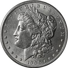 1900-O Morgan Silver Dollar BU