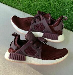 WOMEN'S ADIDAS NMD XR1 DARK BURGUNDY PK BY9820 SNEAKERS SIZE 10