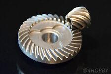 Tellerrad + Ritzel 32-9 Zahnrad Getriebe 11,7 + 6 mm Antrieb Zahnräder Stahl 90°