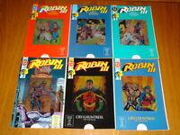 ROBIN III CRY OF THE HUNTRESS #1-6 DC COMICS BATMAN FULL SET (6)
