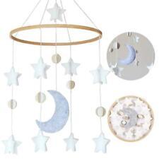 Baby Crib Mobiles Nursery Felt Bed Hanging Decor Moms House Stars Toys