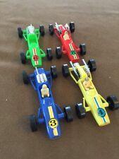 Vintage Plastic Toy Racecar Lot ~ Hong Kong