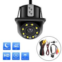 170° HD CMOS Car Rear View Backup Reverse Camera 8 LED Night Vision Waterproof