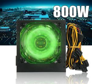 800W Ordinateur bureau Alimentation PC ATX Ventilateur Silencieux Power Supply